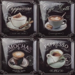 Декор Amadis Fine Tiles Coffee Decors 15*15 из 4 pz.
