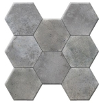 Керамогранит Navarti Pav. Hexagonal Cement Gris